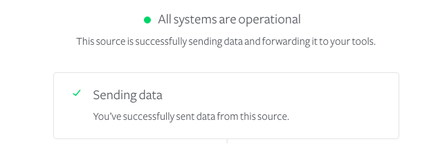 Segment Sources enabled