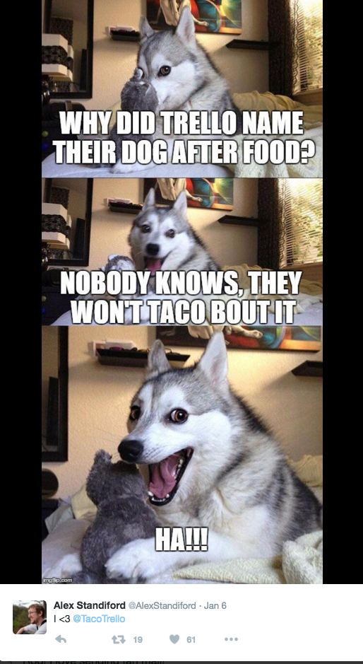 Trello Taco meme