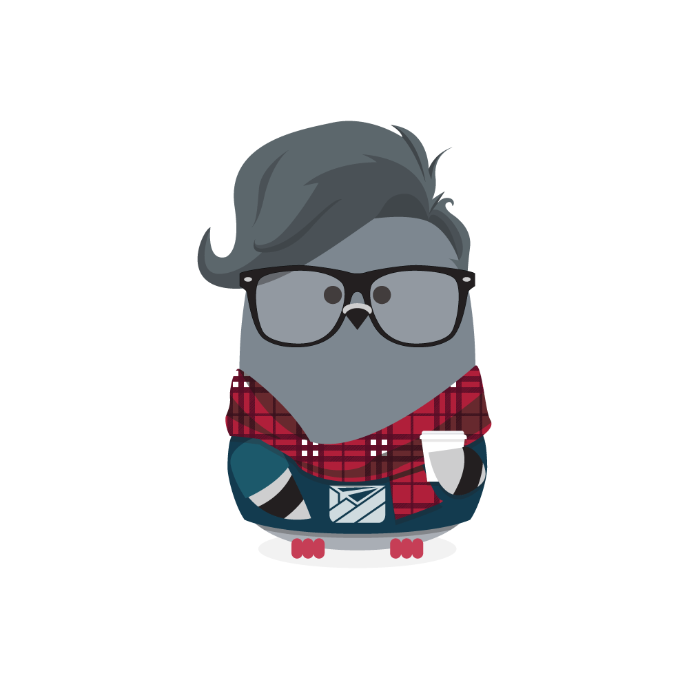 Hipster Ami (Guy) | Customer.io