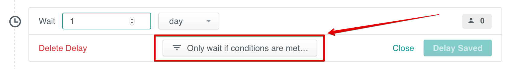 Action Conditions: Add