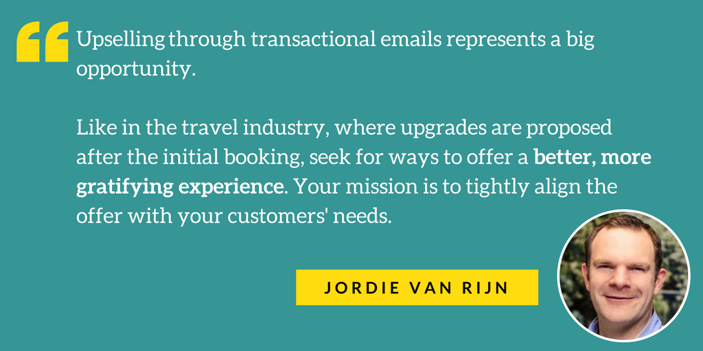 transactional email Jordie quote