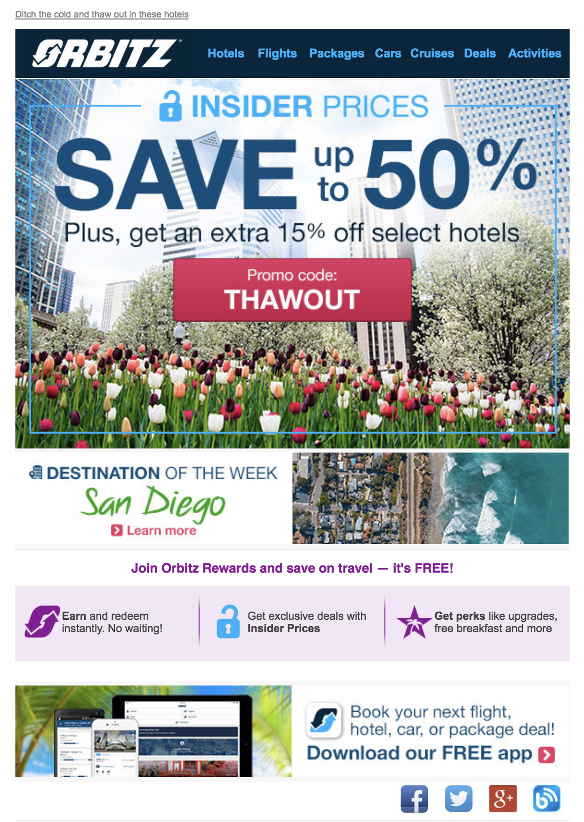 Orbitz transactional email marketing