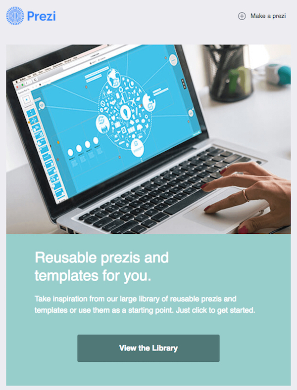 Prezi activation email