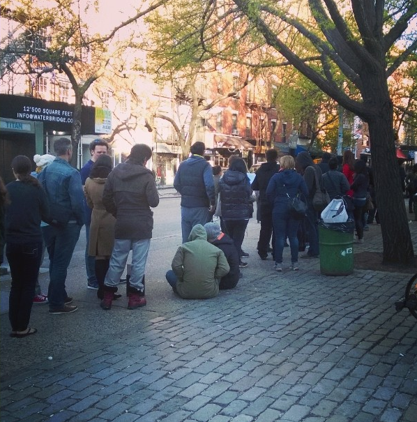 The crazy line for the Cronut