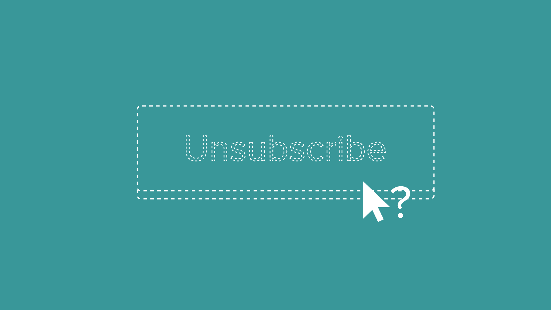When is it ok to email without an unsubscribe?