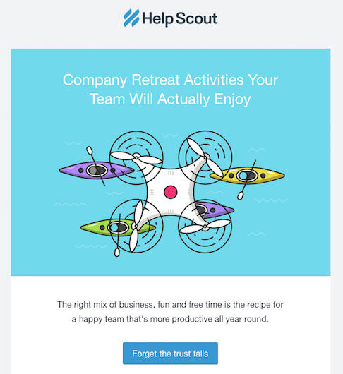 HelpScout newsletter