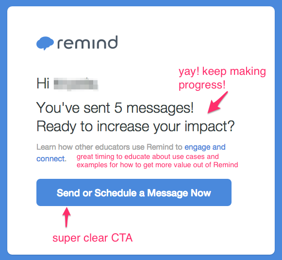 Remind activation email